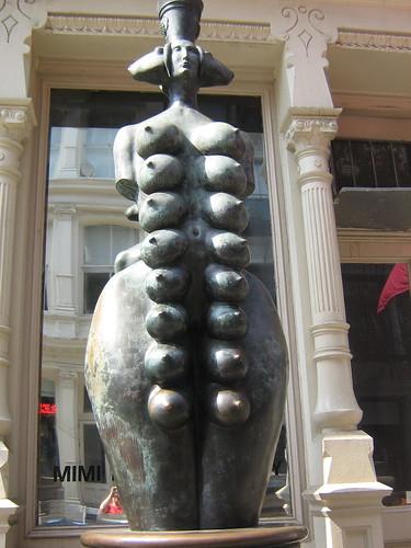 Statue in SoHo