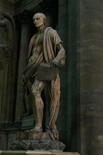 Flayed St. Bartholomew, Milan's Duomo