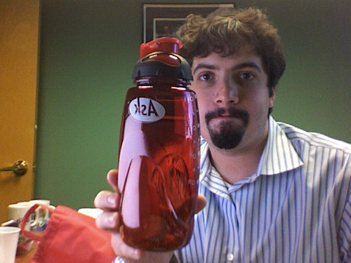 Ask.com Water Bottle