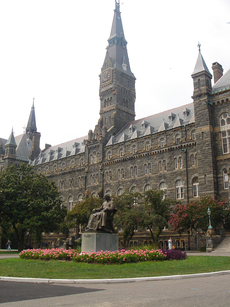 the exorcist revisited healy hall georgetown university