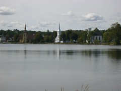 Three Churches, Mahone Bay