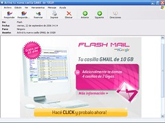 Flash Gmail