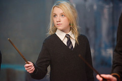 Más fotos de 'Harry Potter y la orden del Fénix': Harry Potter y Luna Lovegood