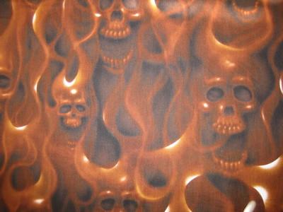 Skulls On Fire!