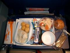 Aeroflot Fish Dinner
