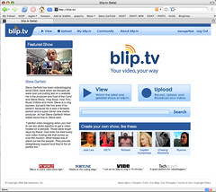 Steve Garfield featured on blip.tv