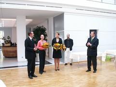 BDS/DGV-Sachsen Landesverbandstag 2006  Führung durch die Manufaktur Glashütter Uhrenbetrieb GmbH (Glashütte Original)