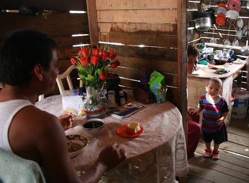 desayuno en el barrio de El Morro