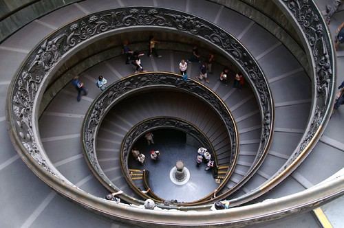 cockle stairs,Vatican