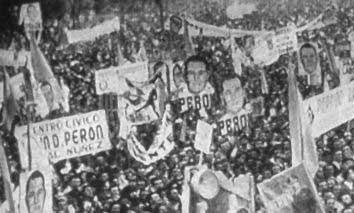 multitud peronista
