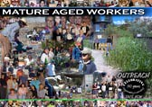 Mature aged workers poster