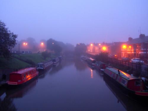 Canal Basin at Dawn