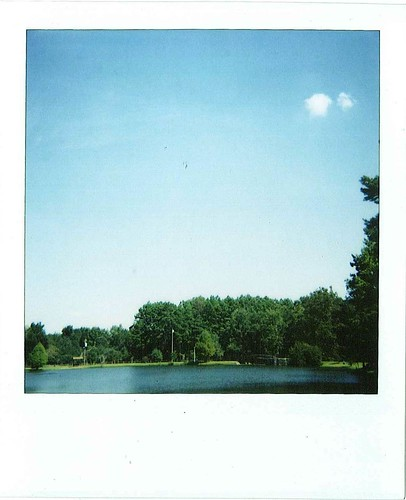Polaroid Picnic - Lake