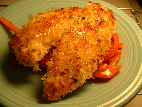 Panko and Ginger Crusted Chicken