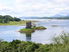 Castle Stalker, Argyll photo by Taylor Dundee