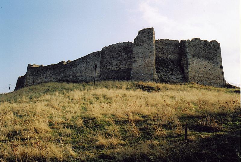 Castle at Mendenitsa, Greece