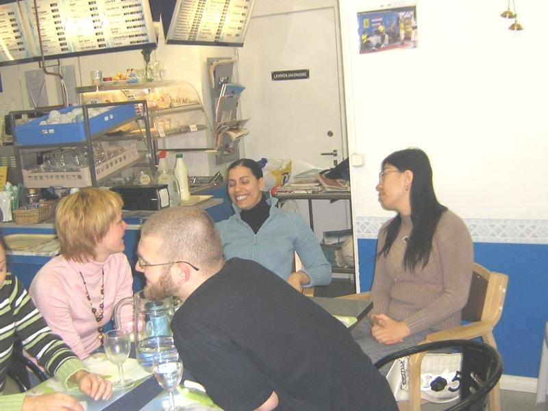 Kerstin, Andi, Tingting and Ulf
