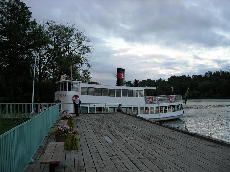 Malaren湖畔的小码头