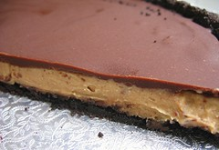 chocolate pb tart layerc