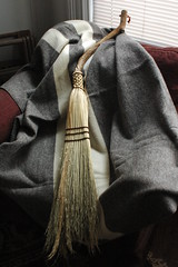 Overview of plaited broom and Hudson Valley Blanket
