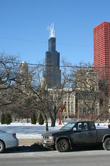 Sears Tower from Columbus Drive