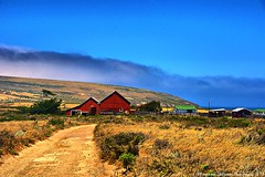 Ranch Buildings from the Trail, Santa Rosa Island Channel Islands National Park (Explored #175 7/20/2012) photo by lhg_11, 1 million+ views! Wow, I'm so grateful!