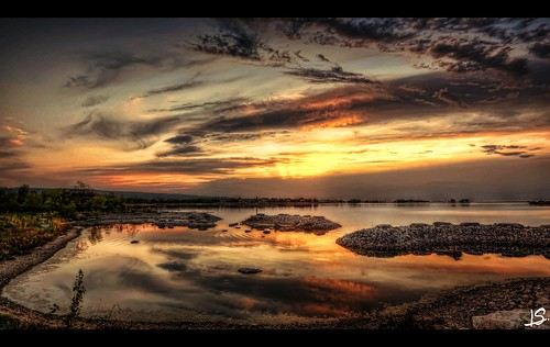 Georgian Bay Sunset photo by Jeff S. PhotoArt