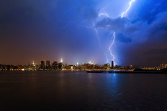 New York City Lightning on May 29, 2012 photo by mudpig