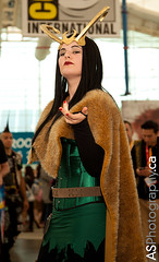 Female Loki at SDCC 2012 photo by andreas_schneider