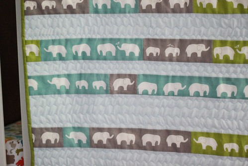 elephants on parade quilt