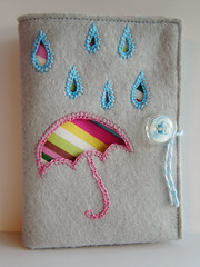 Needle Book Front View photo by Marci Girl Designs