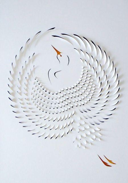 令人惊叹的纸雕艺术
