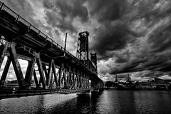 Steel Bridge-1 photo by RaminN