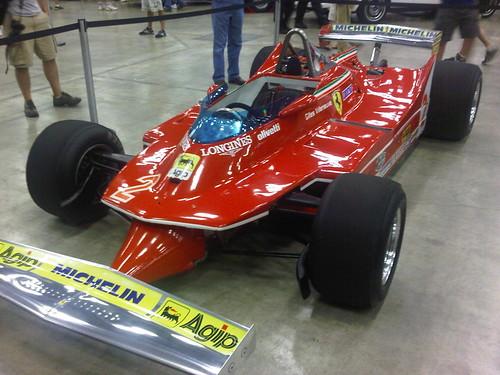 Villeneueve Ferrari 312 T-5