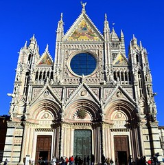 Siena's marvelous Duomo façade, Tuscany, Italy photo by Sir Francis Canker Photography ©