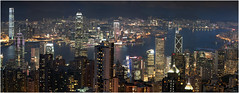 Hong Kong blue hour photo by J.M.Fransen (jero 053)