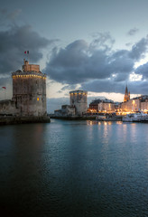 la rochelle blue hour photo by mariusz kluzniak