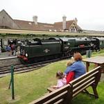 Watching the steam trains<br/>03 Jun 2012