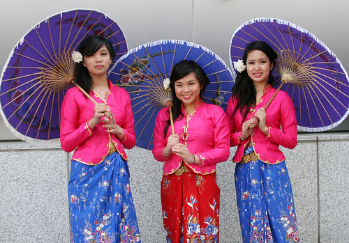 SF Asian Heritage Celebration: Cambodian Dancers photo by shaire productions