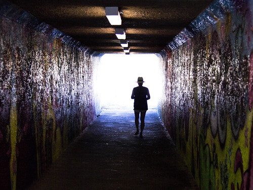 Down a Dark Tunnel photo by Jason Gallant.