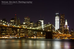 The Lights of Manhattan photo by Tobias Neubert Photography