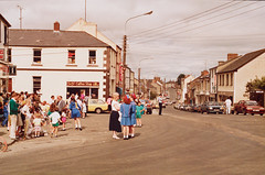 Main Street, Belturbet, Co. Cavan, 1990 photo by National Library of Ireland on The Commons