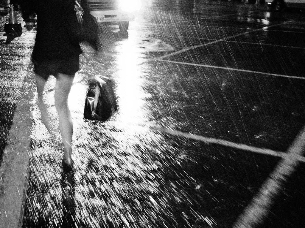 Brave the Rain photo by Blind-C-Copy