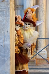 San Marco, Hidden Masks at the Carnival of Venice, Venezia, Italy photo by Photos Girados