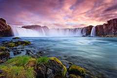 Waterfall of the Goði photo by Joe Azure