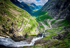 Trollstigen, Norway photo by Bergen64