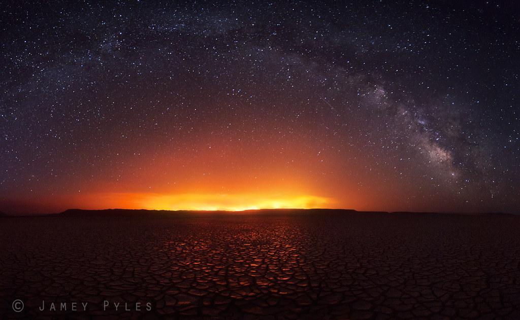 Blazing into the Night photo by Jamey Pyles
