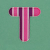 Puffy Sticker Letter T