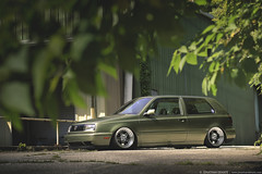 David Bruno's SLAW-Built Mk3 Volkswagen Golf GTI on CCW LM5's photo by Jonathan_DeHate
