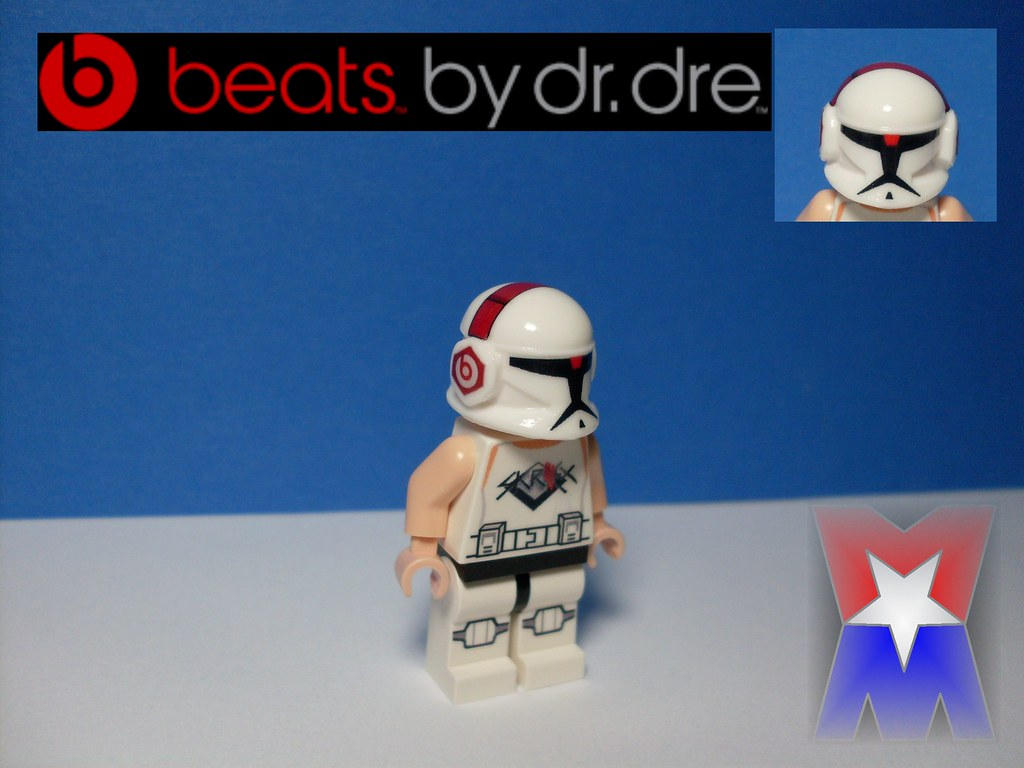 Clone rockin Beats! photo by minifigmaker
